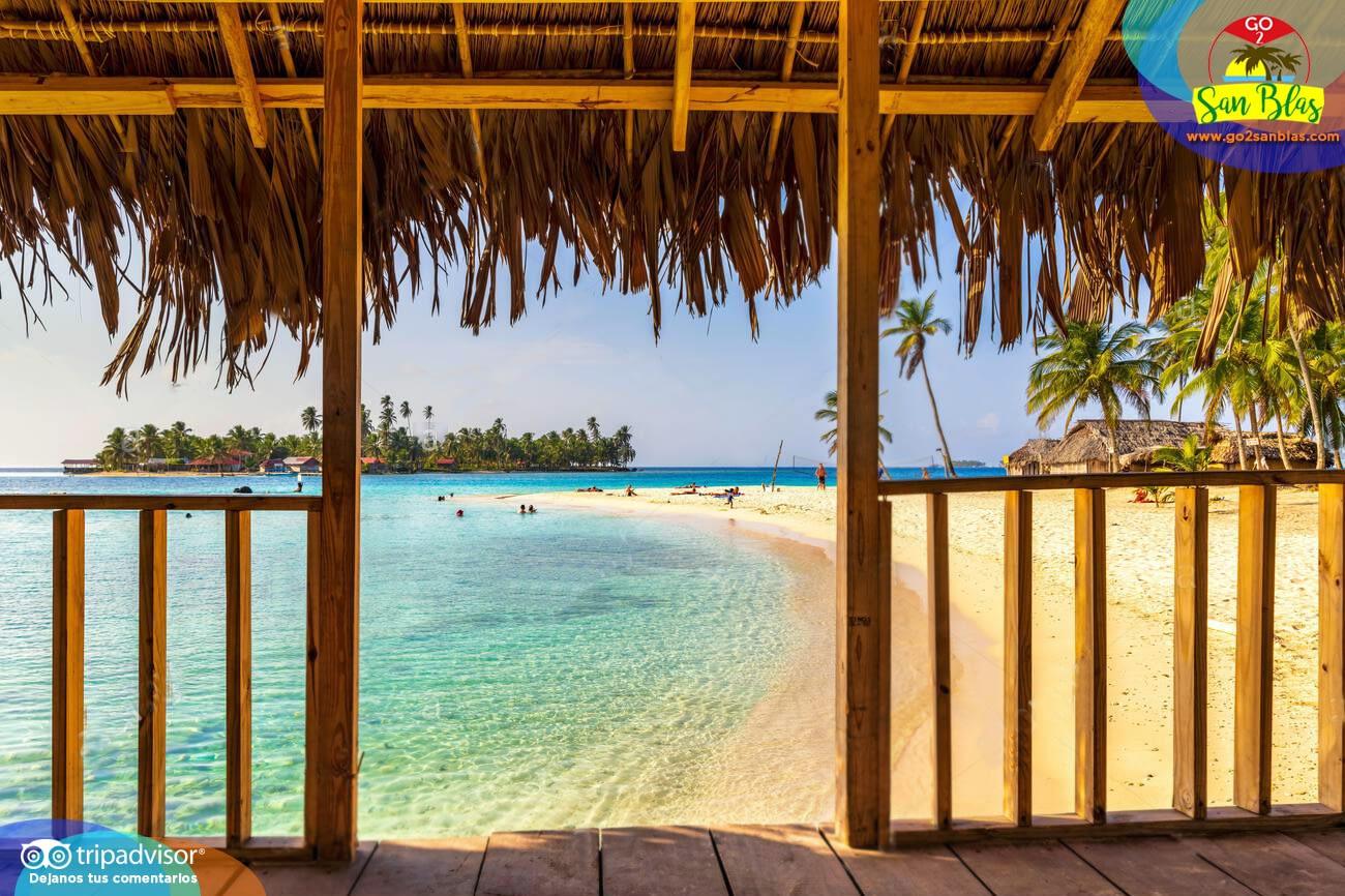 Un lugar perfecto para vacacionar en las islas de Gunayala