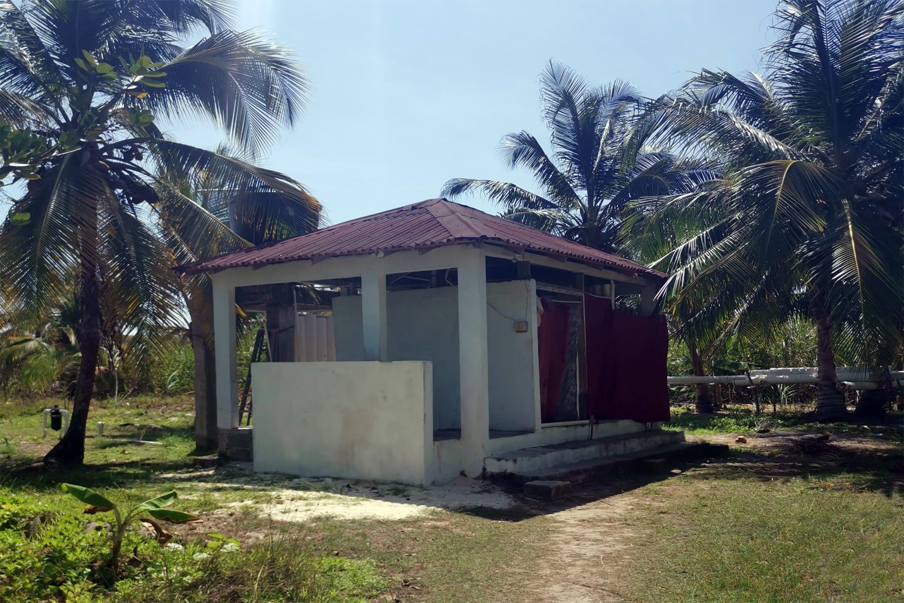 Baños y duchas de Agua dulce en la isla Masargandub