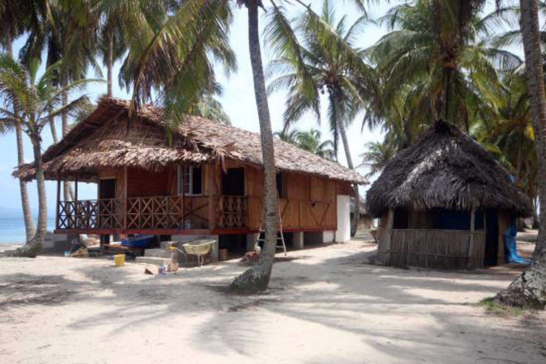 Cabañas en Isla Iggodub