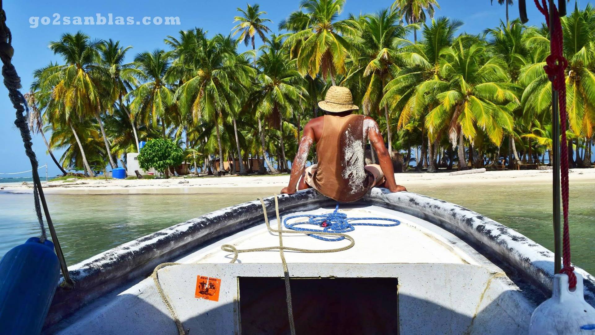 Llegando a la Isla Yansailadub