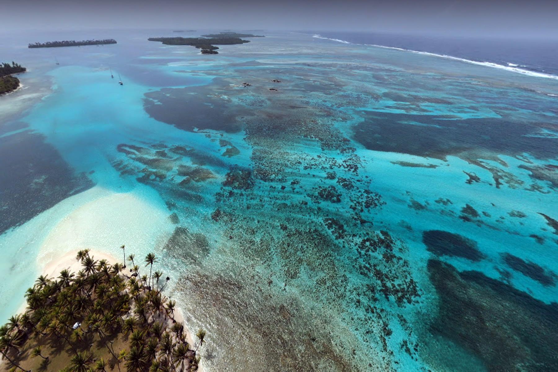 Gaimaudubgan es un conjunto de 21 islas virgenes