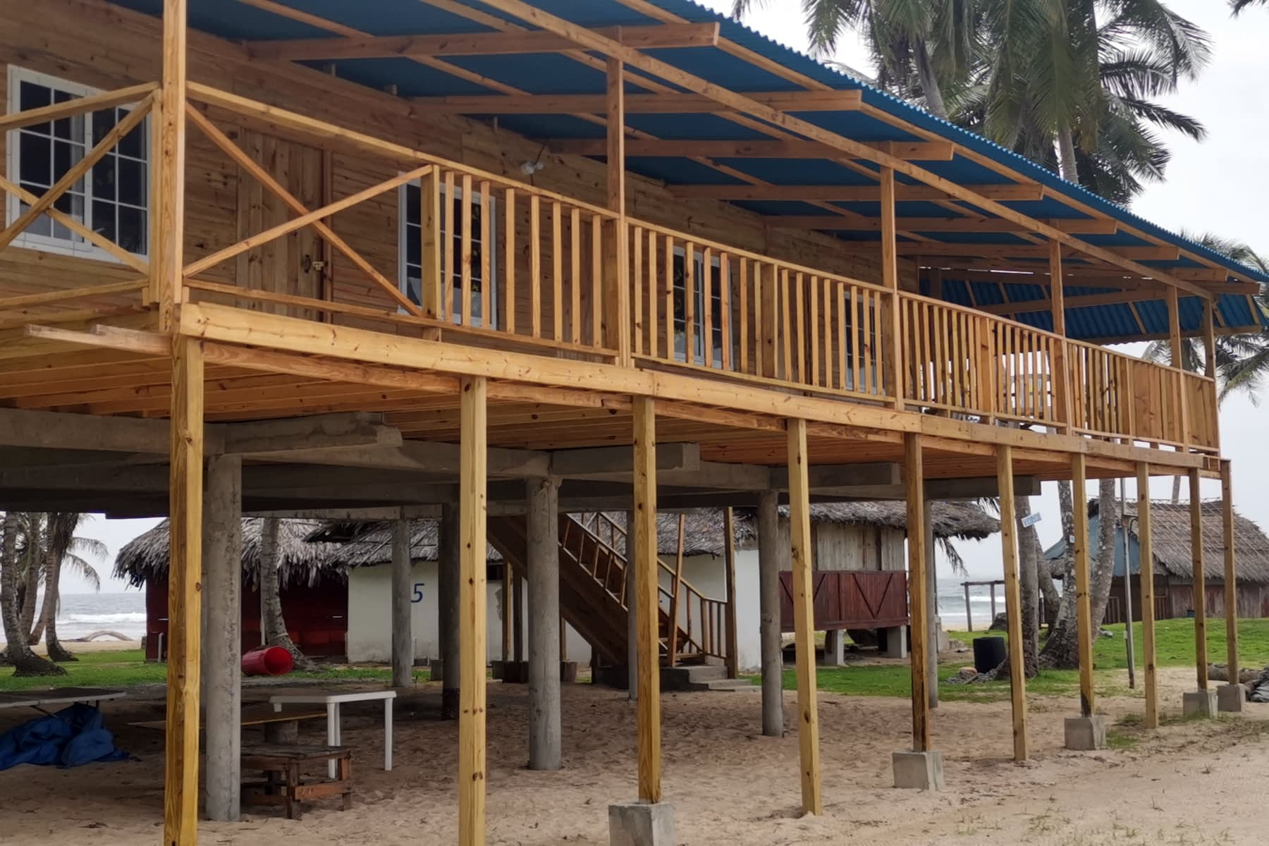 Habitaciones en la isla Iggodub