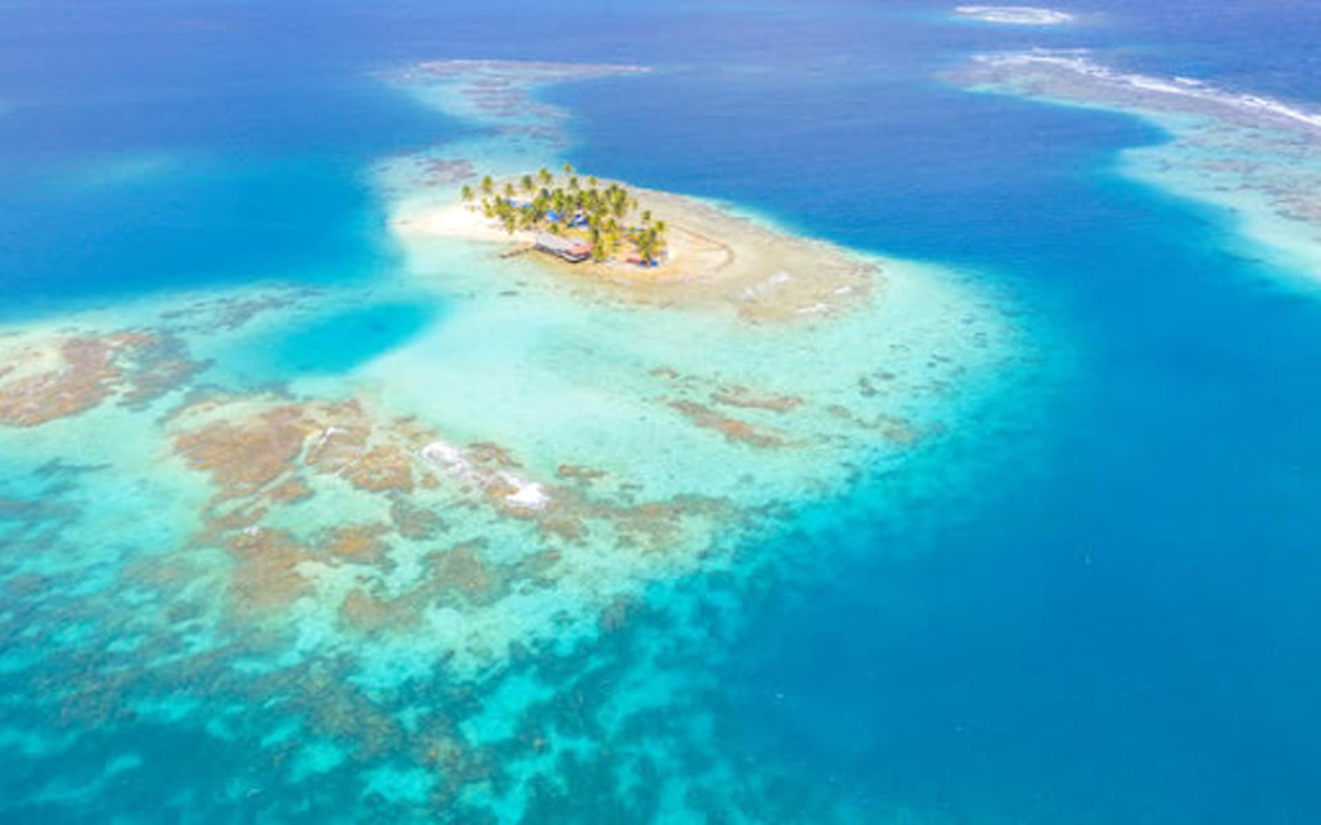 Isla Guanidub en Gunayala