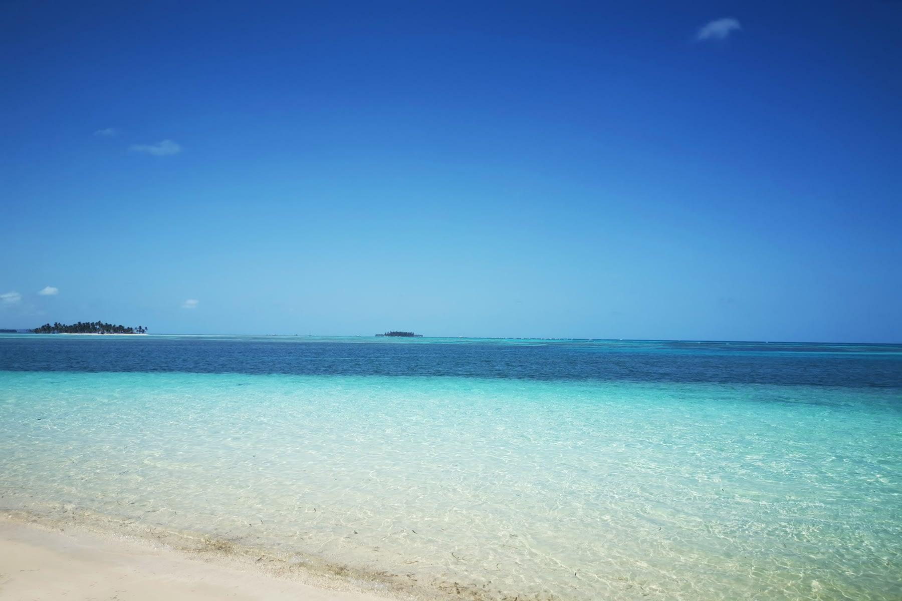 Vista de la Playa en la isla Masargandub