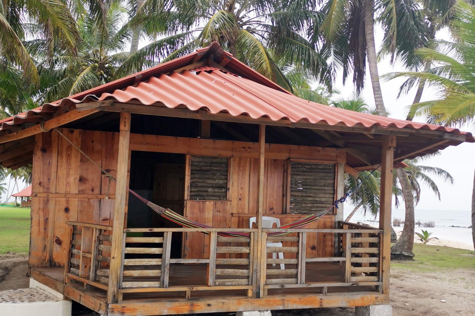 Cabaña en la isla Iggodub