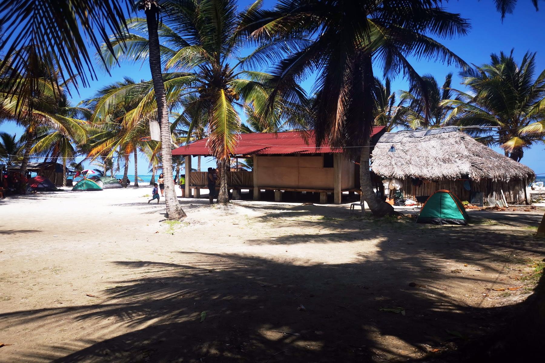 Vista en Medio de la isla Masargandub