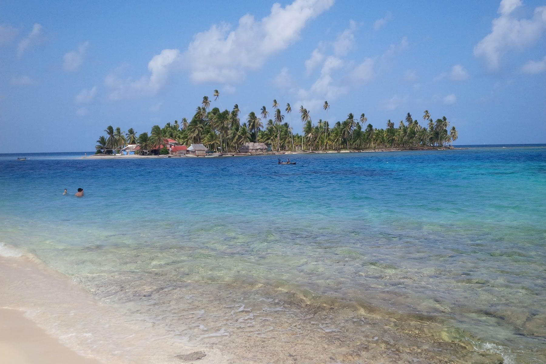 Vista de la Isla Niadub desde la Isla Assudub Bibbi