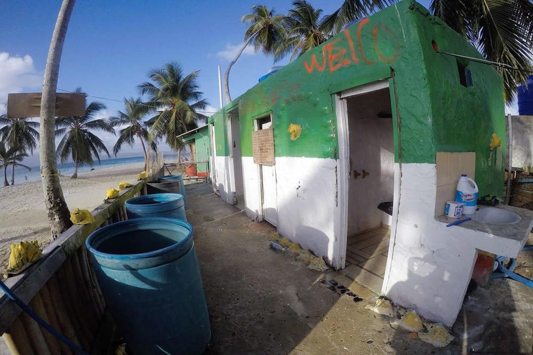 Isla Tubaseniga - Baños